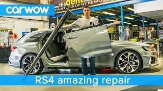Someone damaged my RS4 - but you'll be amazed at the fix!