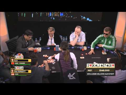 Aussie Millions 2014 - High Stakes Cash Game, Episode 4   PokerStars