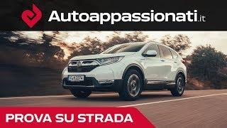 Honda CR-V Hybrid 2019: Prova su strada in anteprima