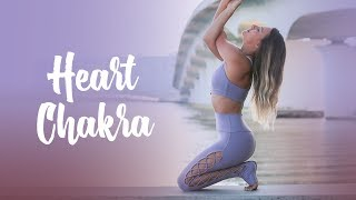 Heart Chakra: Yoga Practice to Experience Expansion I Chakra Challenge