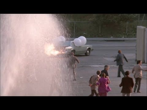 "The Naked Gun: From The Files Of Police Squad! (1988) ""Runaway Car"""