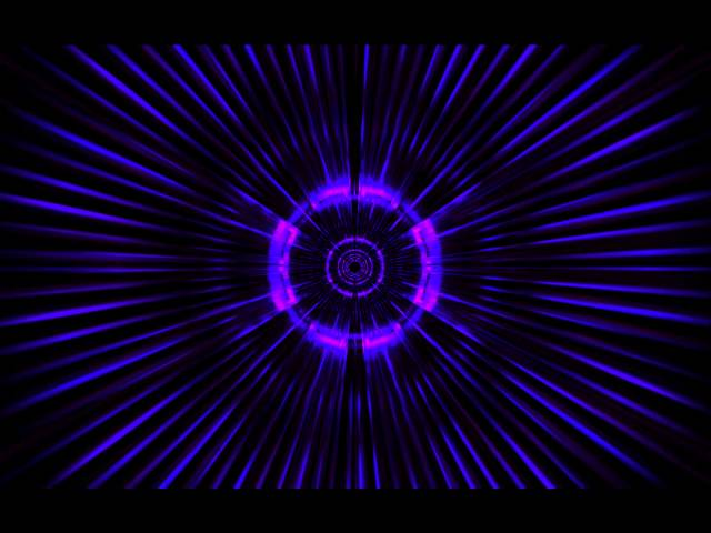 MaxMSP Jitter Warp Tunnel Audio Visualisation