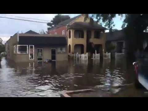 See Flooding In New Orleans At C St And Carrollton