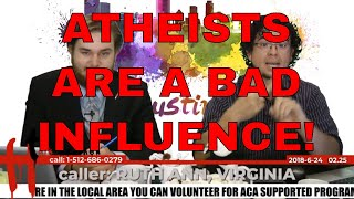 Atheists Are a Danger to the Youth | Ruth Ann - Virginia | Talk Heathen 02.25