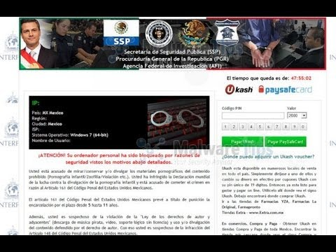 GizmoTij: Quitar bloqueo de Windows por virus Policia EPN, METODO 2