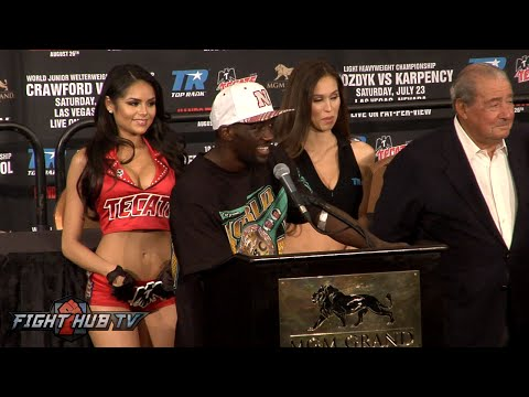 Terence Crawford vs. Viktor Postol COMPLETE Post Fight Press Conference