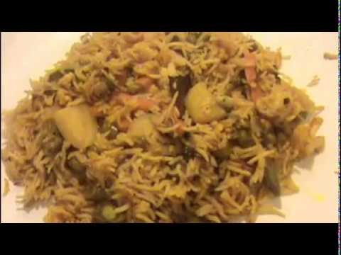 Vegetable Biryani With Coconut Milk