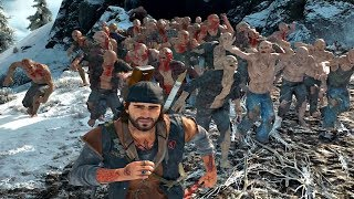 Days Gone - Sagebrush Point Zombies Horde Boss Fight (Days Gone 2019) PS4 Pro