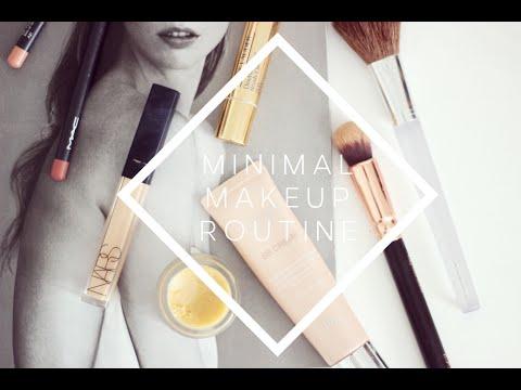 Minimal Makeup Routine | Hello October