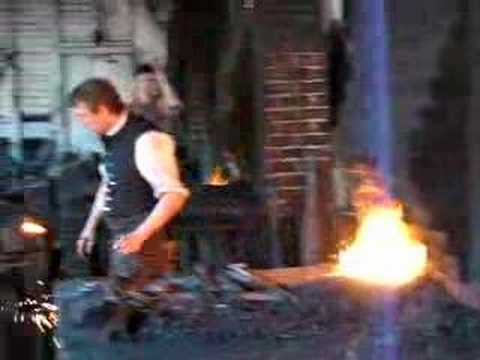 Colonial Williamsburg Blacksmith Video