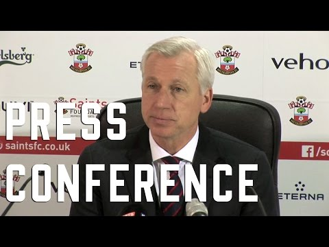 Alan Pardew Post Southampton Press Conference