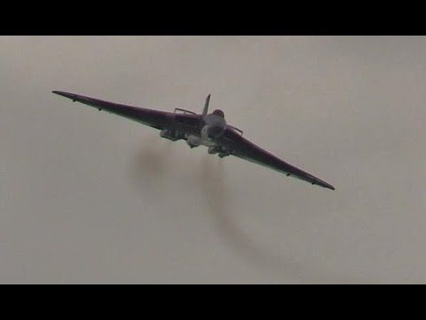 The very last Vulcan Display @ Cosford Airshow 2015