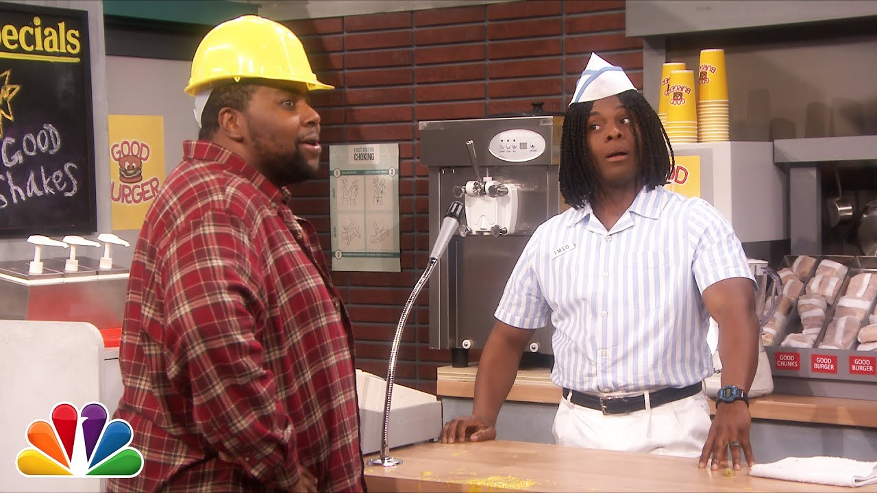 """There Was A """"Good Burger"""" Reunion On The Tonight Show Last Night"""