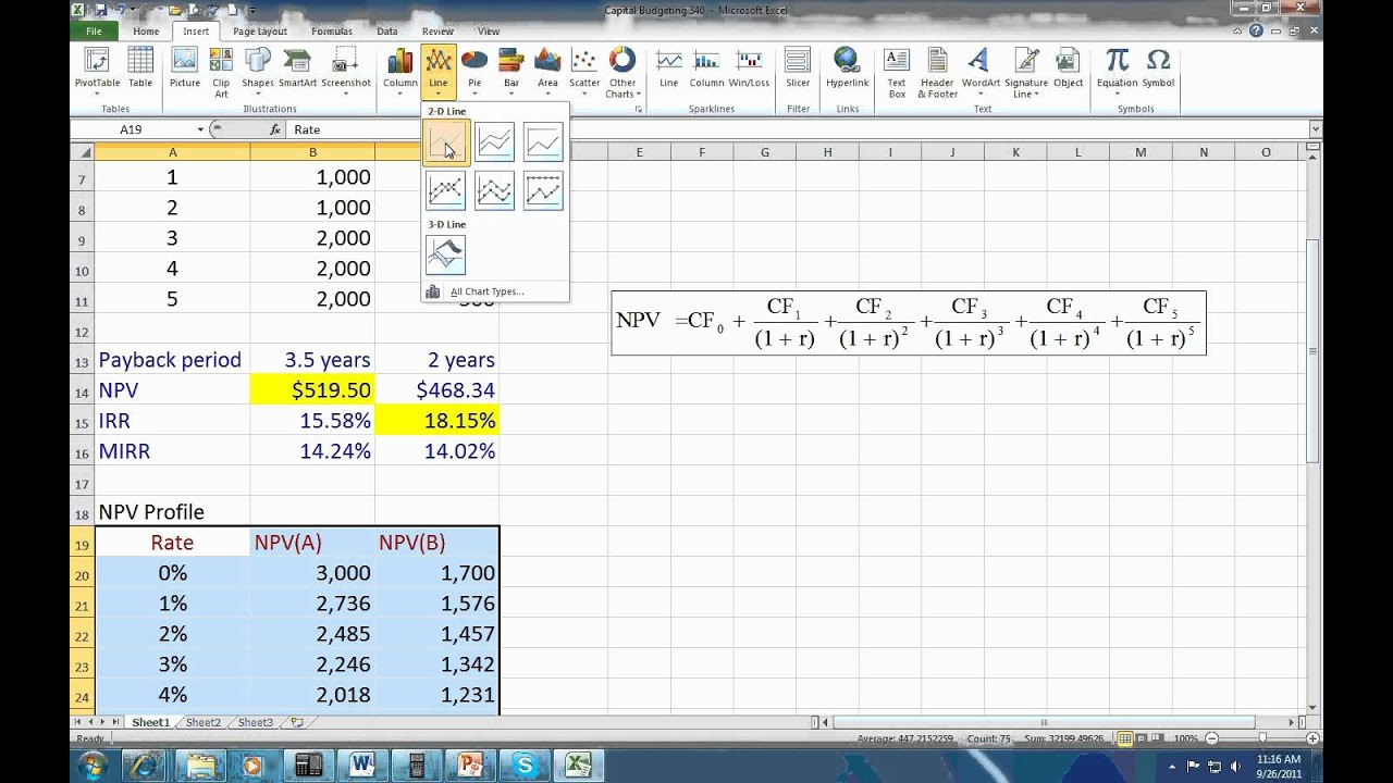 excel computation for capital budgeting Mini case: 10 - 1 chapter 10 the basics of capital budgeting: evaluating cash flows answers to selected end-of-chapter questions 10-1 a capital budgeting is the whole process of analyzing projects and deciding whether.