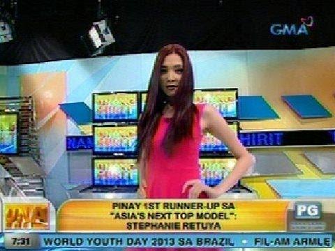 UH: Pinay 1st runner-up sa 'Asia's Next Top Model': Stephanie Retuya