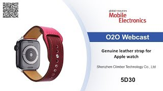 Genuine leather strap for Apple watch – Mobile Electronics show