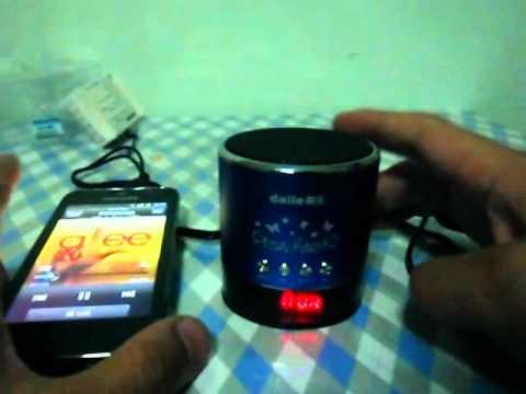 Table top Mini Speaker, MP3 Player, FM Radio