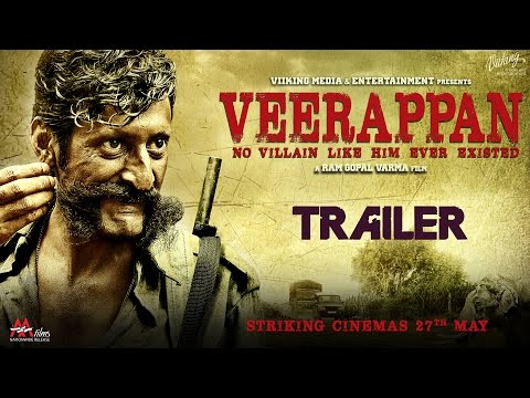 Veerappan Official Trailer | Hindi Movie 2016 | Ram Gopal Varma | Sandeep Bhardwaj, Sachiin J Joshi