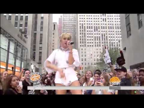 Miley Cyrus Party In The U.s.a (on Today Show) video