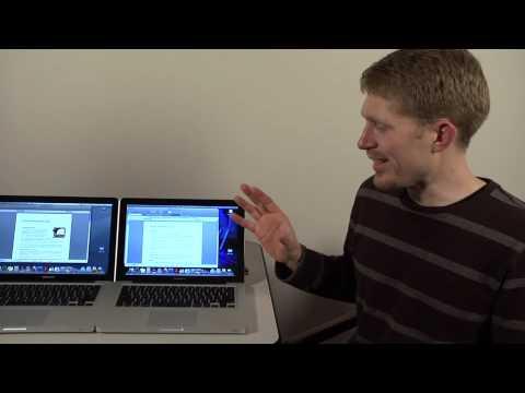 RealSSD™ C300 MacBook Pro SSD/HDD Performance Comparison