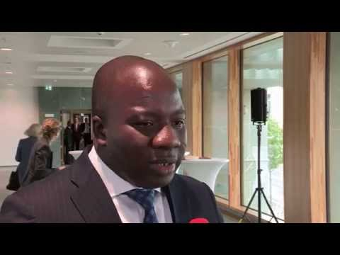 Ghana's Minister for Environment, Science, Technology at Berlin Climate Conference 2015