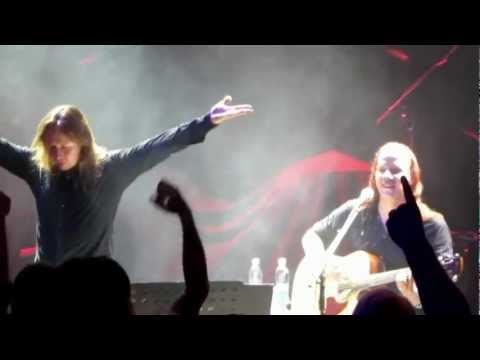 The Trooper - Timo Kotipelto and Jani Liimatainen @ Radio Rock Cruise VIII - Sep 8th, 2012