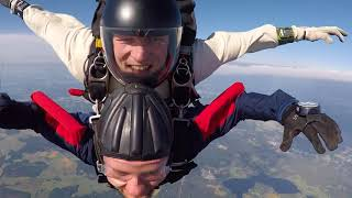 My tandem jump from summer of 2017