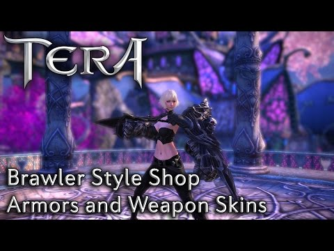 TERA KR | Brawler Style Shop | Armors and Weapon Skins
