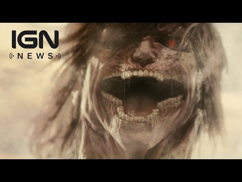 Watch the Live Action Attack on Titan Trailer - IGN News