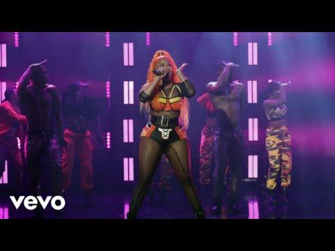 Nicki Minaj - Barbie Dreams, Ganja Burns & FEFE (Live From The Ellen Show 2018)