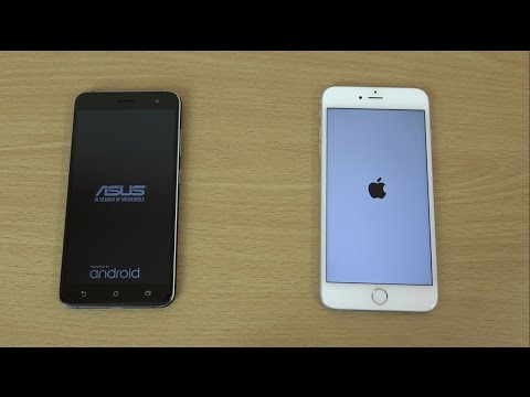 Asus Zenfone 3 vs Apple iPhone 6S+ - Speed & Camera Test!