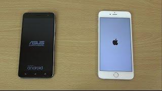 Asus Zenfone 3 vs Apple iPhone 6S+ - Speed & Camera Test!