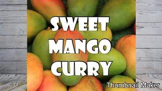 Sweet mango curry recepie # thani nadan cooking malayalam