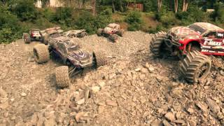 Traxxas E-Maxx VS E-Revo First Encounter