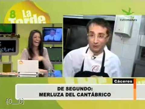 Receta de Merluza del Cantabrico.
