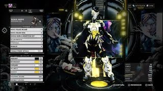 Warframe My color schemes ^ ^