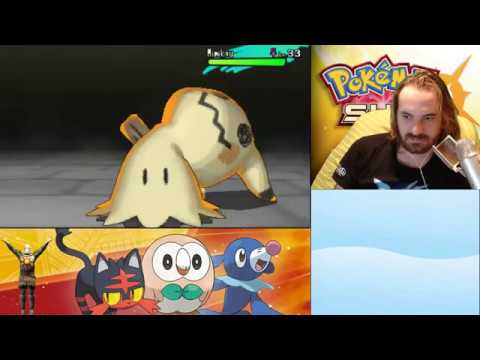 Fred - Pokemon Sun: Ghost Trial Fail