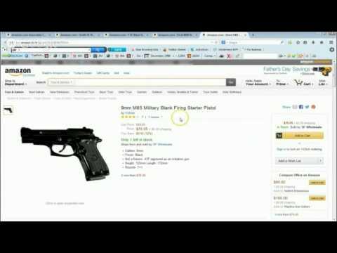 Blank Firing Guns for sale Cheap Find The Finest Gun