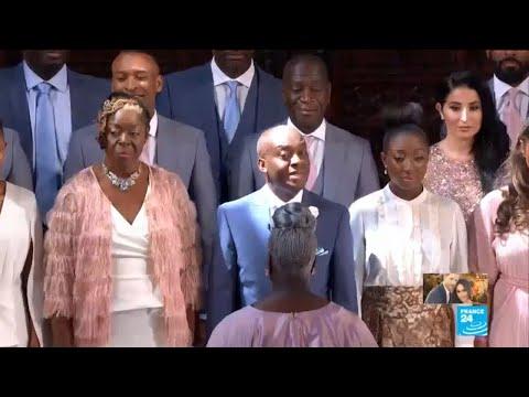 UK Royal Wedding: Gospel Choir sings