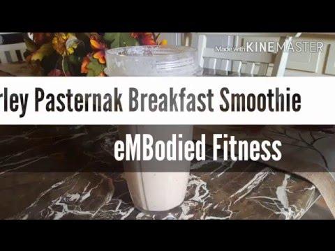 Smoothie Recipe | Harley Pasternak Breakfast Smoothie