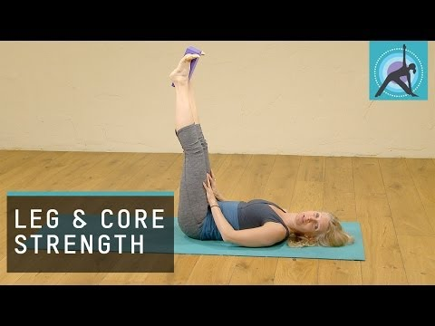 Improve Core And Leg Strength With Yoga