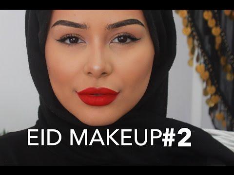 EID MAKEUP #2: Bold Lips & HUGE INTERNATIONAL GIVEAWAY♥
