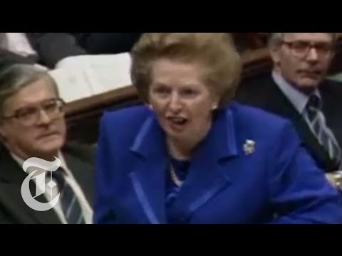 A Video Mash-up of Margaret Thatcher's Memorable Remarks
