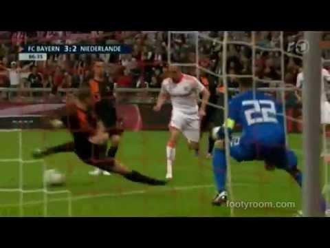 Bayern Munich 3-2 Holland Goals Highlights HD 22/05/2012