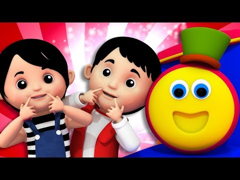 If You Are Happy | Bob The Train | Song For Toddlers | Kindergarten Nursery Rhymes For Children