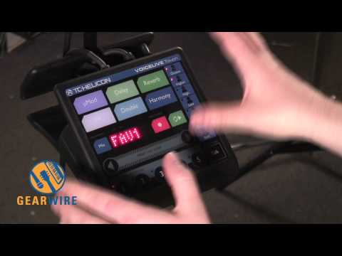 TC Helicon VoiceLive Touch: A Very Sensitive Vocal Effects Processor Demo (Video)