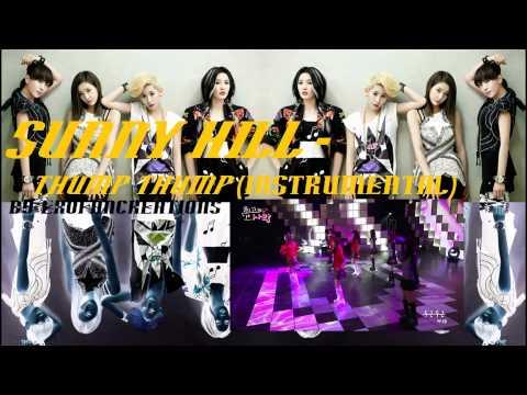 Sunny Hill - Thump Thump (INST w BG Vocals) DL