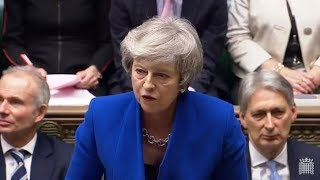 LIVE - PMQs 16 January 2019 and the motion and vote of no confidence in Her Majesty's Government