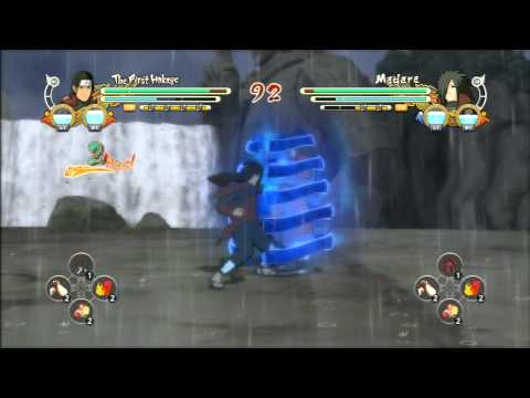 Naruto Ultimate Ninja Storm 3 Madara V.s Hashirama Senju First Hokage video