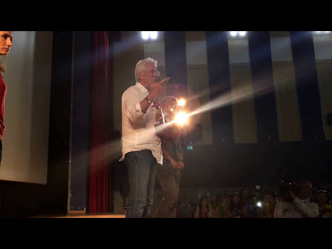 Mr. Richard Gere as you never see in Italy Giffoni Film Festival